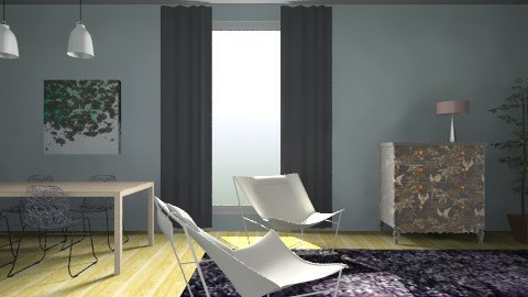 Leaves - Feminine - Living room - by Kaarina