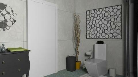 bathroom - Rustic - Bathroom - by gummy00yummy