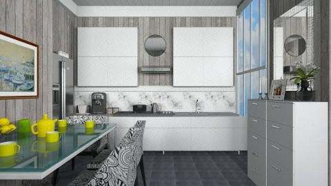 GWK - Modern - Kitchen - by milyca8