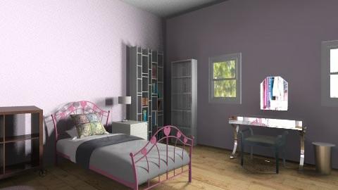 Abbeys Bedroom - Feminine - Bedroom - by cheerleaderabbey