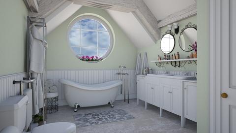 Tiny bathroom - by Lizzy0715