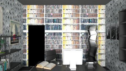 Modern Office 4 - Retro - Office - by tillsa98