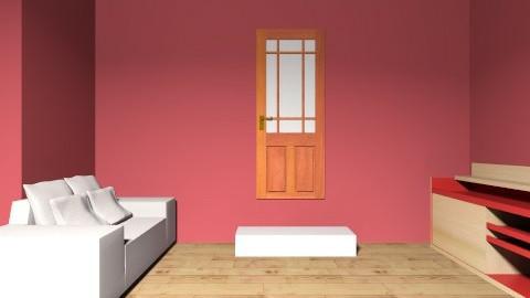 red zebra living room  - by didi2323
