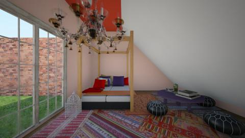 boho - Vintage - Bedroom - by ashleylydon