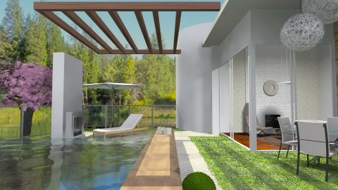 Outdoor live - Modern - Garden - by sahfs