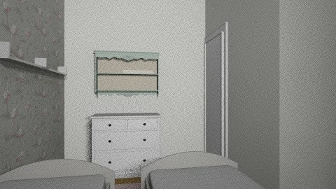 Twins option 2 a - Kids room - by gaylefirmin