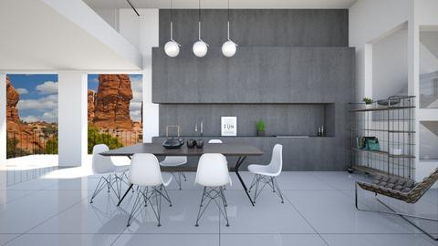 antithesis - Modern - Living room - by Leyvna
