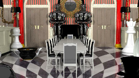 dining with alice - Dining Room - by The_Hunter_and_Gatherer