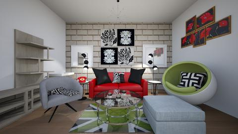 Make it P O P - Living room - by Isabellawelty