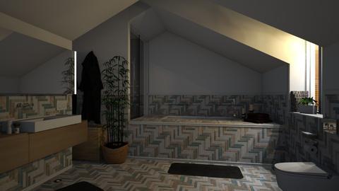 Attic Bathroom - Bathroom - by Brubs Schmitt