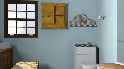 bathroom - Rustic - Bathroom - by lkick