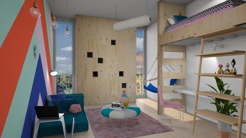 teen room - Kids room - by Liu Kovac