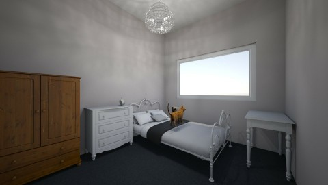 Bedroom - Feminine - Bedroom - by Jade A McLeod