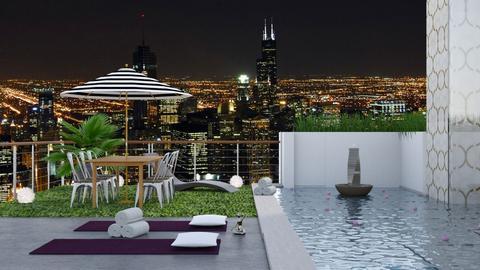 Roof Top Retreat  - Garden - by bgref
