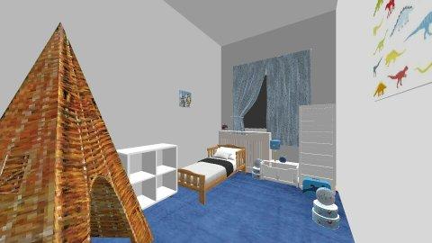 Pokoj Franka - Classic - Kids room - by angelakap