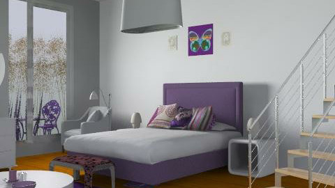Gill - Eclectic - Bedroom - by SariJo
