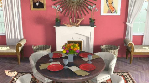 Thanksgiving dining room - Classic - Dining room - by Mieke ten Have