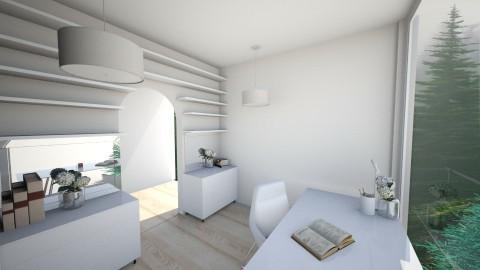 Study - Minimal - Office - by daniellelouw