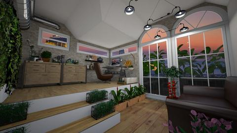urban jungle office - Office - by angela18076
