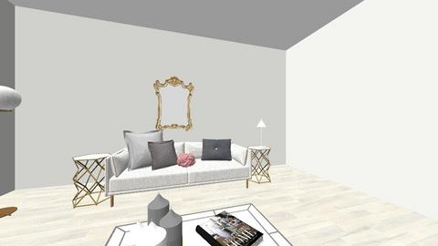 feminine lounge diner - Feminine - Living room - by scandihmj