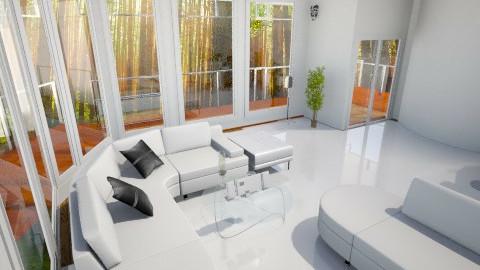 Bachelor party - Living room - by Varsha Liston