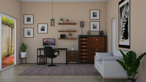 eclectic office - by Joanne Galle_680