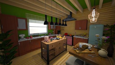 kitchen for Mum - Kitchen - by norcska