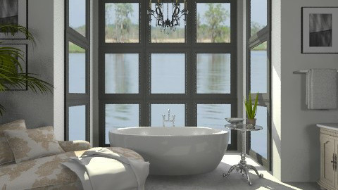 Luxurious Bath - Glamour - Bathroom - by LizyD