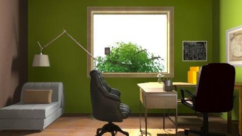 le bureau atelier - Rustic - Office - by Li Z A Power
