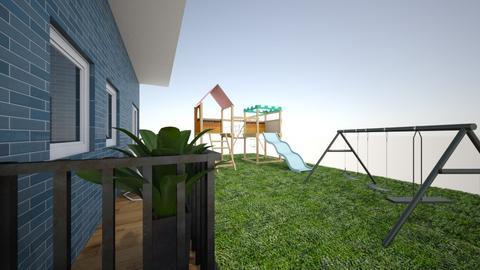 Family Backyard - Classic - Garden - by MagiC_FetuS