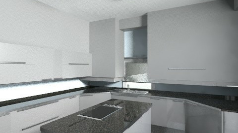 Modern Blue Kitchen - Kitchen - by SaraxDGoesRoarr