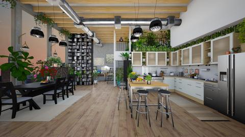 kitchen - by Christine Keller