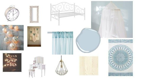 light blue dream room  - by kathy reyes