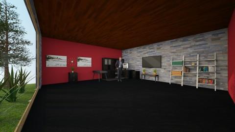 CEOs Office Ground Floor - Modern - Office - by hunteronstad