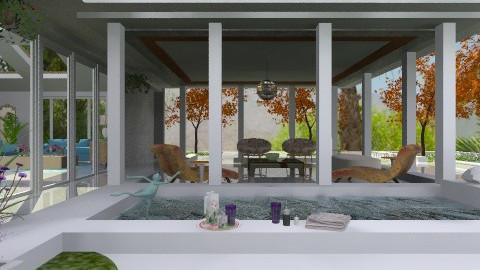 Spa House - Modern - Garden - by Open Spaces
