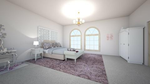 Princess bedroom Madara - Glamour - Bedroom - by petalsword