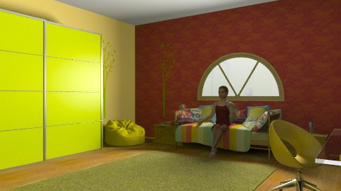 ksulino spitaki!!!! - Country - Kids room - by gobin