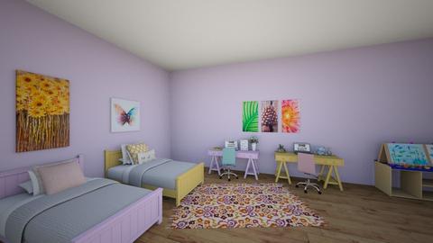 Little Girls Room - Bedroom - by Bennetteg