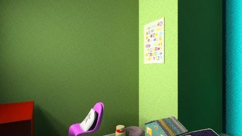 Valeria Dreamhouse - Retro - Living room - by valeria_sarah