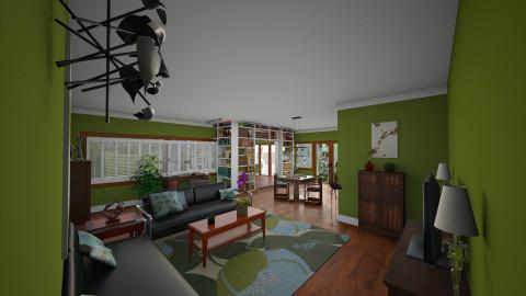 Ground Floor - Vintage - Living room - by Rusty Fetterov