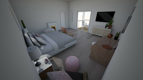 square symmetrical room c - by AvaHug