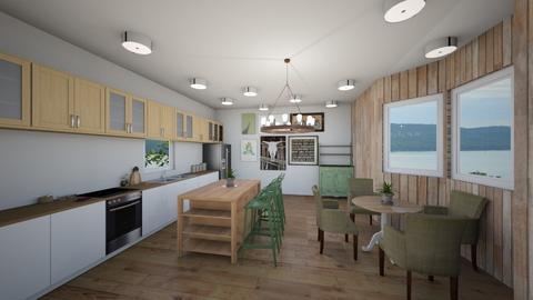 Green Kichean - Modern - Kitchen - by tcooney