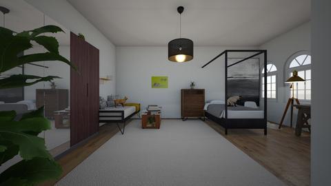 cuarto minimalista - Minimal - Bedroom - by Aidan Gallagher