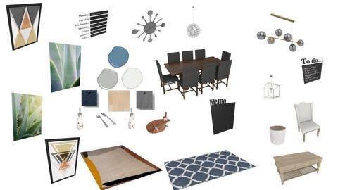 Dining room mood board - by Little Miss Designer 198