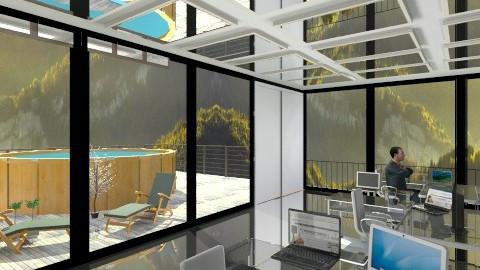 modern office 2 - Modern - Office - by Sandeep Kondana