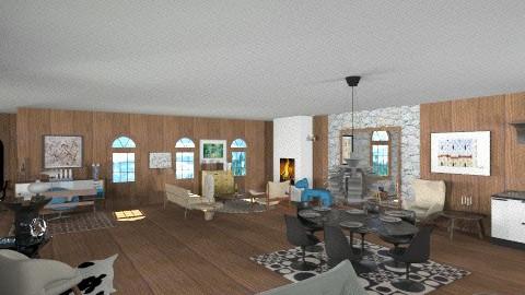 Canada - Retro - Living room - by mario75