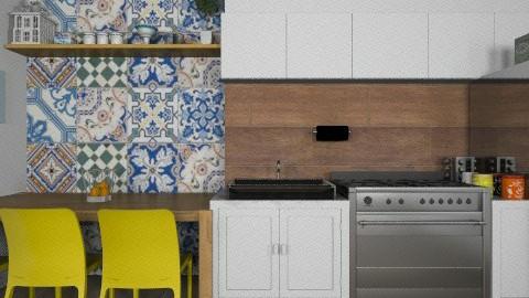 kitchen compose - Vintage - Kitchen - by Maria_Julia