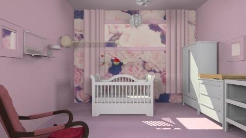 baby girl bedroom - Bedroom - by Tatjanaa Linsenn
