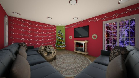 The Christmas Spirit - Living room - by Shyista the Fashionista