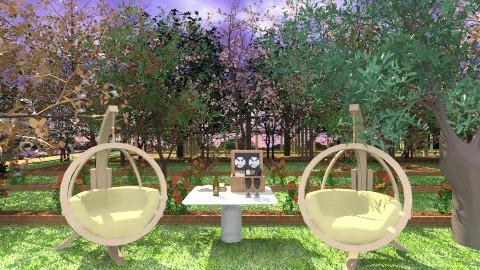 romantic evening - Modern - Garden - by lamzoi